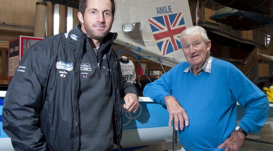 Ben Ainslie Meets Oldest Surviving Gold Medalist from 1948