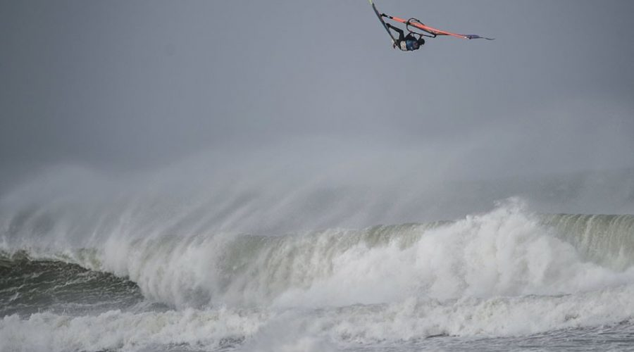Extreme Windsurfers Chase Cornish Storms