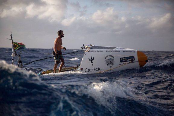 Chris Bertish Atlantic SUP Crossing