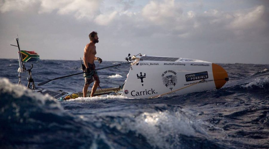 Chris Bertish Crosses the Atlantic on a SUP