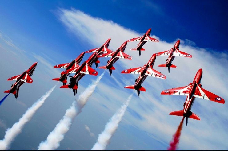 Falmouth_Week_Red_Arrows