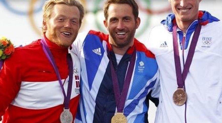 Cornishman, Ainslie Makes Olympic History