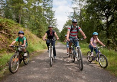 Lanhydrock cycle trails
