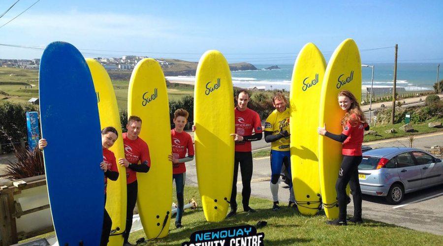 Newquay Activity Centre Strikes Gold