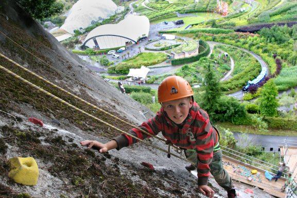 Rock Climbing Eden Project