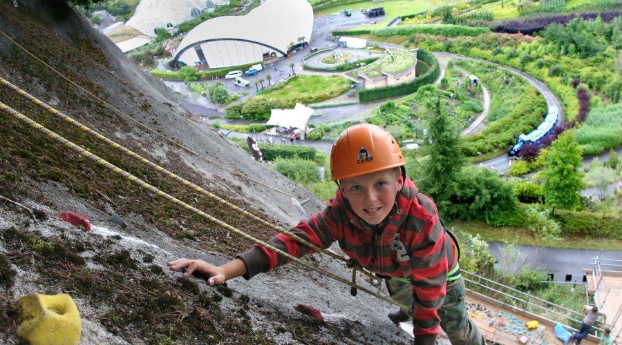 Rock Climbing for Kids at Eden