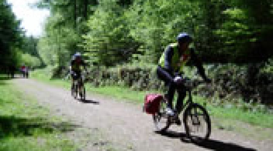 Mud, Sweat and Beers biking race