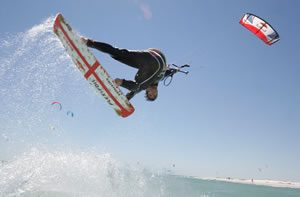 Kitesurfing in Cornwall