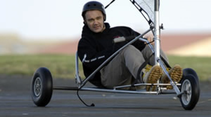 Blokart Speed Record Set in Cornwall