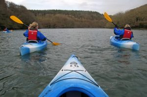 Kayaking Cornwall
