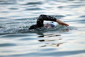 Wild, sea or open water swimming in Cornwall