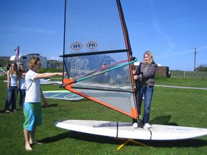 Windsurfing Cornwall
