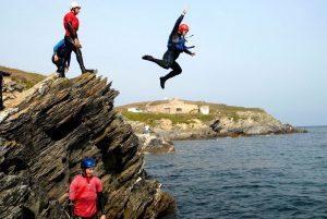 Coasteering Cornwall