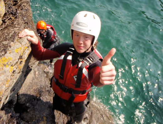 Shoreline Extreme Sports coasteering