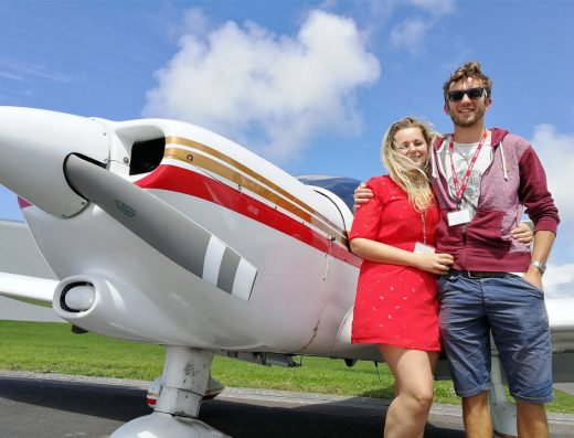 flight experience Newquay