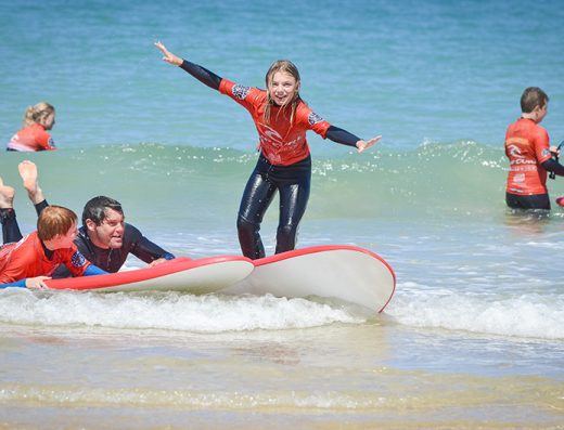 surfing-family-lessons-Newquay-activity-centre