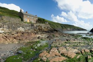 coastal cottage in Cornwall