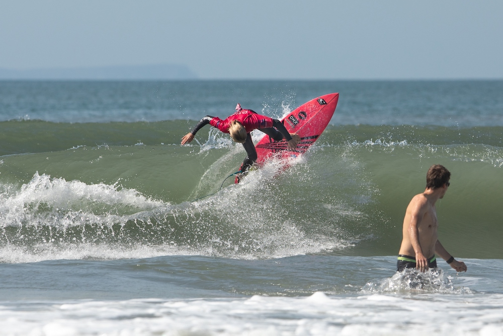 Wave rider at Jesus Surf Classic 2019
