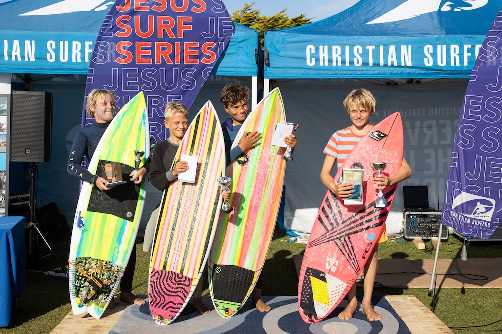 Winners at Jesus Surf Classic 2019
