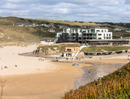The-Dunes-from-Beach-Perranporth-Cornwall